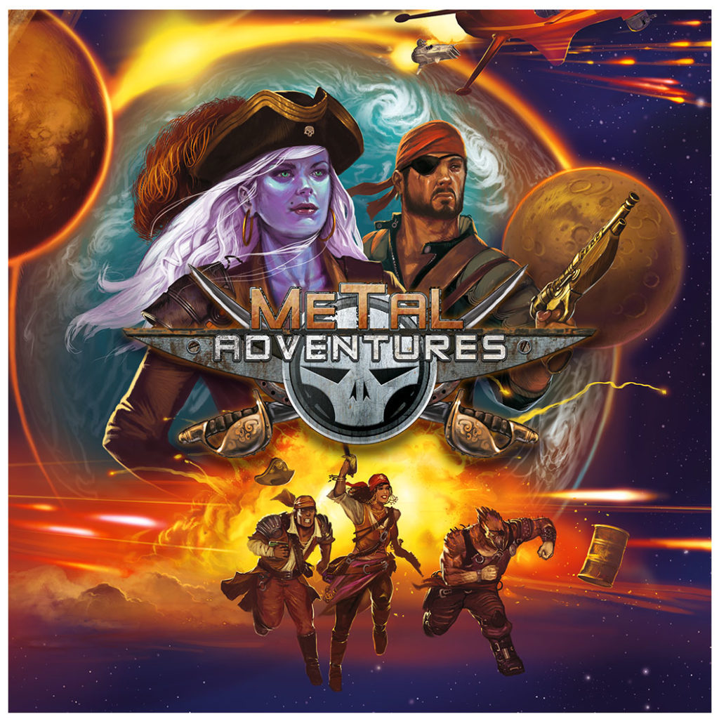 Metal Adventures - Funded in March 2020